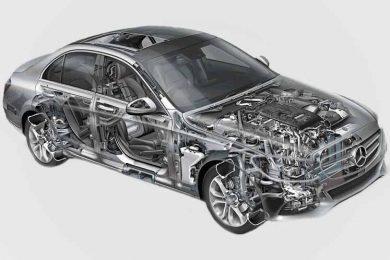 Ремонт электроники Mercedes